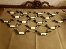 Lot of 16 Vintage Style Drawer Dresser Pull Handles