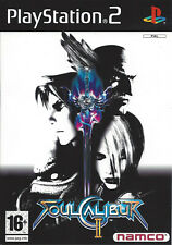 SOUL CALIBUR II (2) for Playstation 2 PS2 - with box & manual - PAL