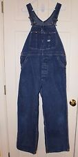 Vintage Lee 32 x 29 Union Made Jelt Denim Overalls