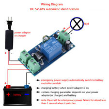Dc5-48v 10a Power Supply Emergency Automatic Switch Module Battery Controller ZG
