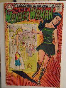 DC WONDER WOMAN #179 (1968) 1st I-Ching appearance, Steve Trevor, Doctor Cyber