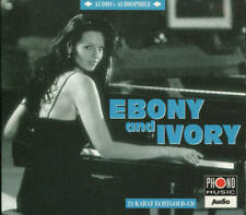 24 KARAT ECHTGOLD-CD  AUDIO´S AUDIOPHILE  EBONY AND IVORY VOL.5  PHONO 1998