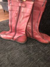 Naturino Girls Leather Boots  Size 28 Infants 10