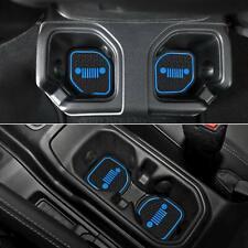 Liner Accessories For Jeep Wrangler JL JLU Gladiator JT Cup, Door Pocket Inserts