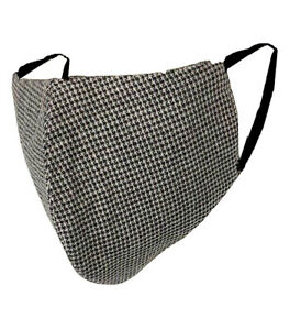 LCJ Denim Eco Face Covering mask washable UK Reversible Small Dots