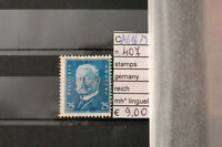 STAMPS GERMANY GERMANIA REICH MH * N. 407 (A41679)