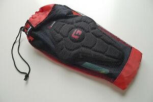 G-FORM PRO-RUGGED MTB KNEE Guard PADS BLACK Cycling Mountain Bike Protection