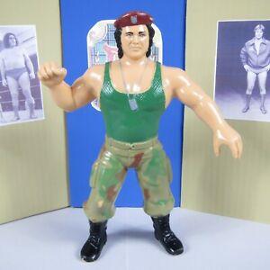 """CORPORAL KIRCHNER - WWF SUPERSTARS - VINTAGE 1986 LJN 8"""" WRESTLING FIGURE - EX"""