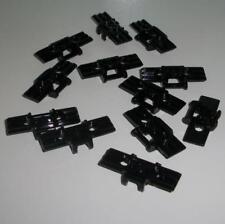 Lego Technic - Twelve 1x5 Vehicle Track Elements - Black - ID 88323  - NEW