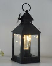 4 LED Battery Antique Vintage Bulb Lantern Hanging or Table Lamp Indoor / Garden