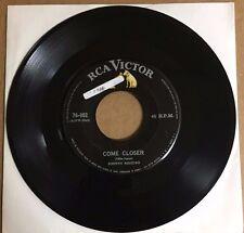 """JOHNNY RESTIVO COME CLOSER / YA-YA MEXICAN 7"""" SINGLE SOL ROCK 'N'ROLL"""