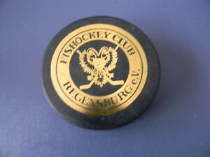 HC REGENSBURG division III gold printing Hockey Puck