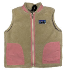 Patagoina Girl's Full Zip Retro X Fleece Vest Size XXS