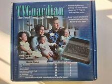 Vintage Tv Guardian Foul Language Profanity Filter Model 301 (1999)