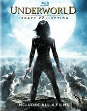UNDERWORLD THE LEGACY COLLECTION New Sealed Blu-ray All 4 Films