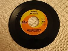 GREEN RIVER BOYS/GLEN CAMPBELL  DIVORCE ME C.O.D./DARK AS A DUNGEON CAPITOL 4990