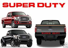 Red Super Duty Tailgate Letters For 2008-2016 F-250/F-350/F-450 New Free Ship