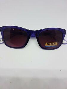 Reebok Classic unisex Sport Sunglasses purple transparent RRP £39