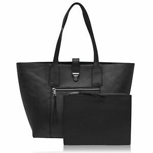 Jack Wills Womens Elmswell Large Tote Shopper Bag Zip