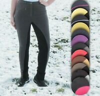 💜 SALE Ladies Children's Jodhpurs Stretchy Horse Riding Equestrian Show - Cheap