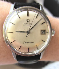 1960s Gents SS Omega Seamaster Automatic Cal 565 24J Date Watch Serviced