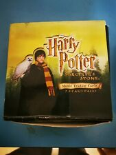 HARRY POTTER AND THE SORCERERS STONE  BOX TRADING CARDS x 36 packs