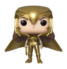 Funko Pop! Heroes: Wonder Woman 1984 - Wonder Woman Golden Armor (Metallic) Vinyl Figure (Walmart Exclusive)