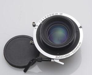 Rollei 80mm f2.8 HFT Planar Zeiss Lens Professionally Converted Compur 1 Shutter
