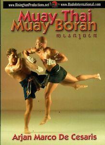 MUAY THAI BORAN KICK BOXING kickboxing Arjan & MARCO DE CESARIS 1 DVD MMA B633