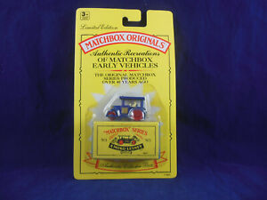 """Matchbox Originals No.1 Aveling Barford Road Roller """"Authentic Recreations"""" 1992"""