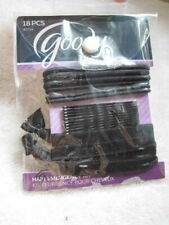 18 Goody Black Hair Emergency Kit Bobby Pins Ouchless Ribbon Elastics Pouch Prep