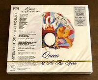 Queen Night At The Opera Rare 5.1 Surround Sound DTS DVD and Gold CD New Sealed!