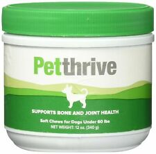 PetThrive Soft Chews for Dogs, 12 oz Exp: 02/21