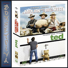 A MILLION WAYS TO DIE IN THE WEST & TED - DOUBLE PACK  *BRAND NEW DVD BOXSET ***
