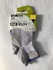 SmartWool Men's Merino Wool PhD Run Ultralight Cushion Socks, Gray- Extra Large