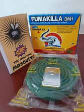 Mosquito Coil 8 Hours Protection for Home Outdoor Camp Summer FUMAKILLA Brand 🦟