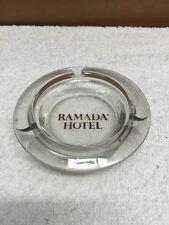 Ramada Hotel Glass Ashtray