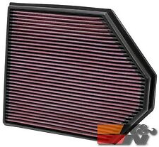 K&N Replacement Air Filter For BMW X3 3.0L L6 2011 33-2465
