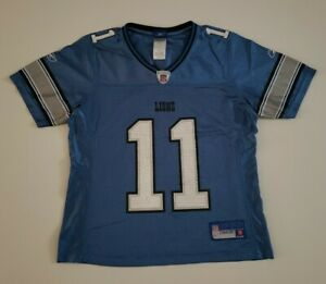 Detroit Lions Roy Williams #11 Youth Small Jersey By Reebok/NFLEquipment/Players