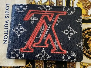 Genuine Brand NEW Louis Vuitton Upside Down Kim Jones Multiple Wallet Super RARE