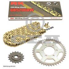Kit de Cadena BMW S 1000RR 09-11 Conversión RK Gb 520Gxw 118 Abierto Oro 17