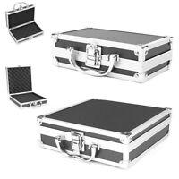 Portable Tool Box Aluminium Alloy Storage Safety Case Toolbox Organizer Case S/M