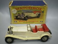 MATCHBOX MODELS OF YESTERYEAR Y-10 1928 MERCEDES 7,1 LITRE 36/220
