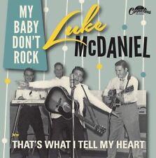 ROCKABILLY 45 - Luke McDaniel- my baby don't Rock