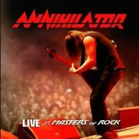 Live at Masters of Rock by Annihilator (CD, Nov-2009, SPV)