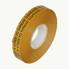 Jvcc Atg-7502 Atg Tape: 1/2 in. x 36 yds. (Clear Adhesive on Gold Liner)