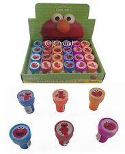 Sesame Street Elmo 24x w/ Box Self Ink Stamps Birthday Party Favors Bag Filler~