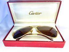 Vintage Cartier Vendome Aviator Sunglasses Made In France Rare Occhiali