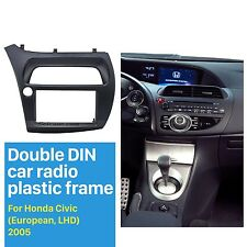 Car Radio Fascia Frame for HONDA Civic Hatchback 2006-2011 Cover Trim Dash Kit