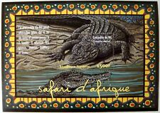TOGO CROCODILE STAMPS SOUVENIR SHEET 2001 MNH WILDLIFE WILD ANIMALS OF AFRICA